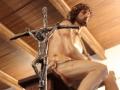 Jesus camino hacia la cruz