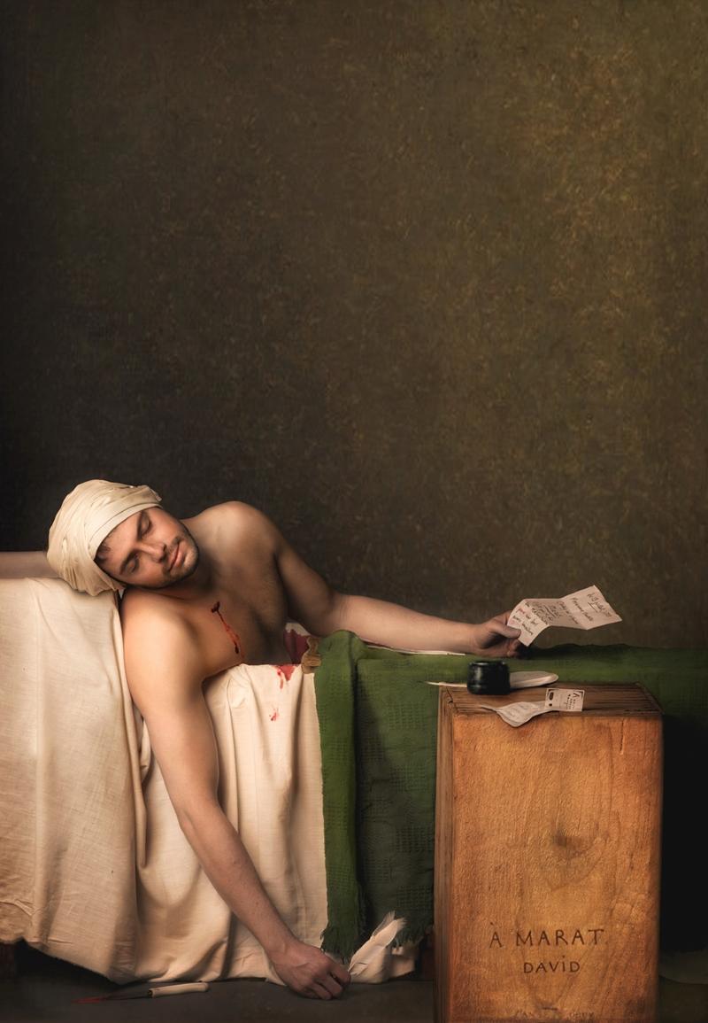 La muerte de Marat-Jacques Louis David