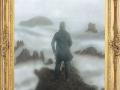 el caminante sobre el mar sobre nubes