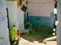 A por agua en Chaouen