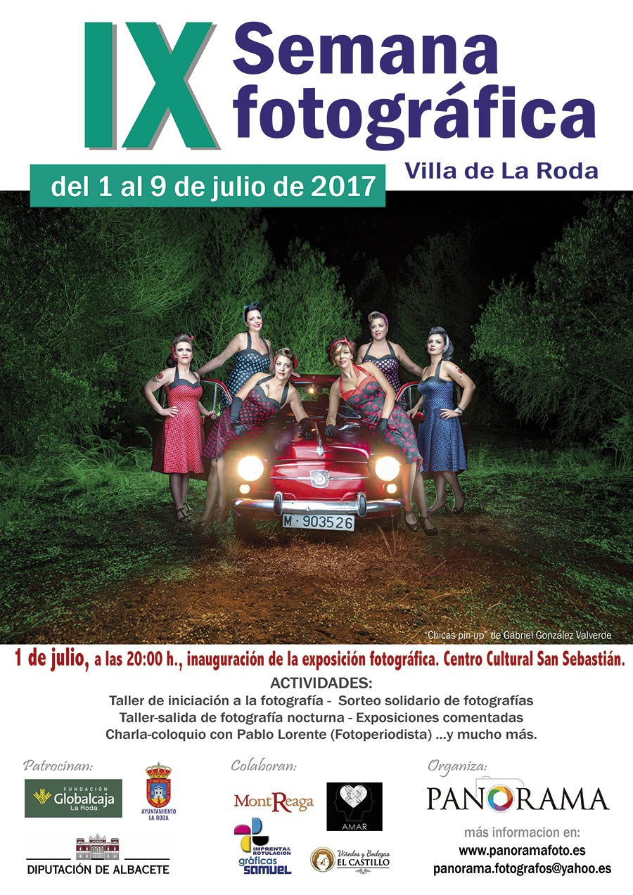 cartel IX semana fotográfica Panorama